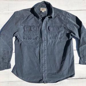 Eddie Bauer Work Shirt Light Work Jacket men's L